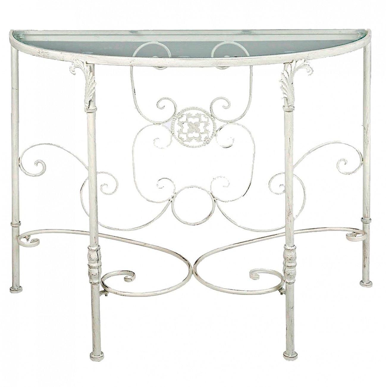 Купить Консоль «Паризьен» (белый антик) в интернет магазине дизайнерской мебели и аксессуаров для дома и дачи