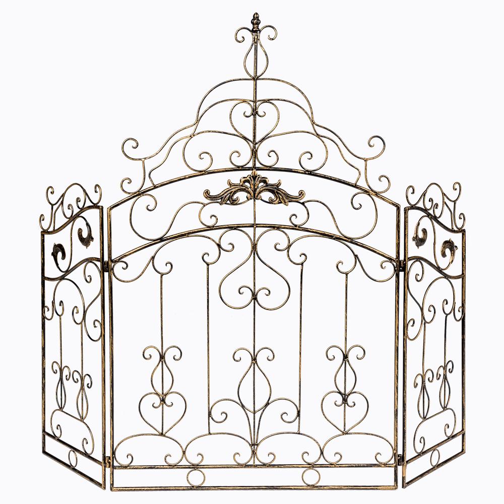 Купить Каминный экран «Клермон» Бронза в интернет магазине дизайнерской мебели и аксессуаров для дома и дачи