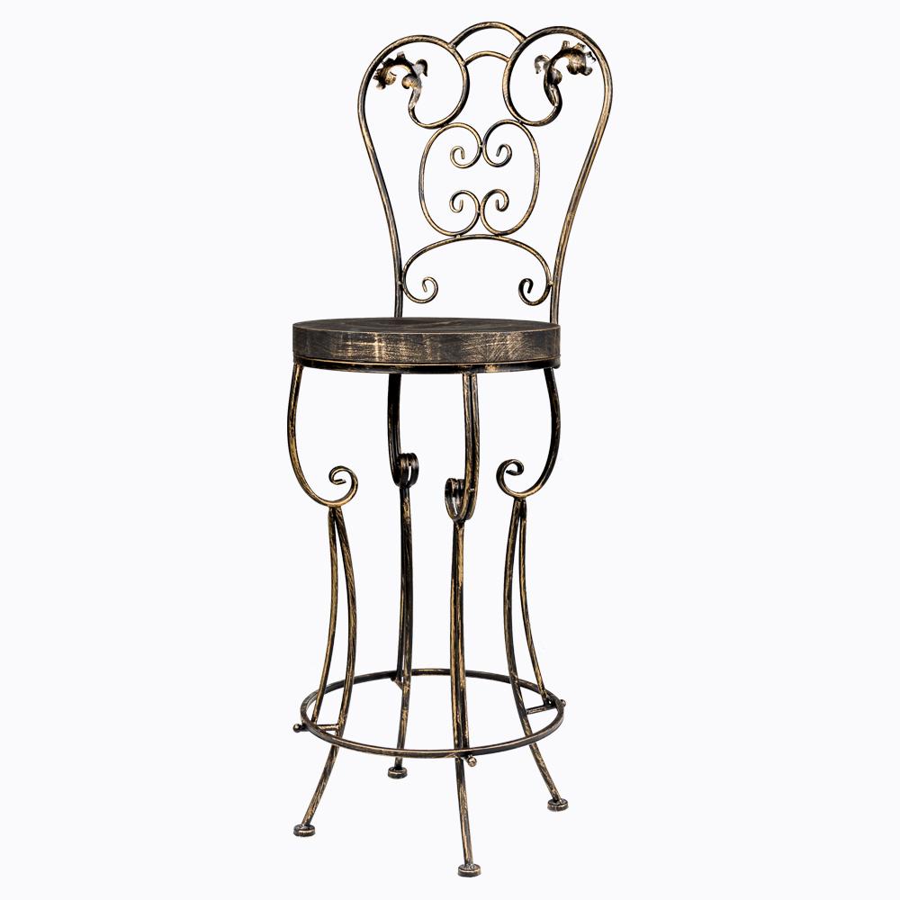 Купить Барный стул «Болеро» Бронза в интернет магазине дизайнерской мебели и аксессуаров для дома и дачи