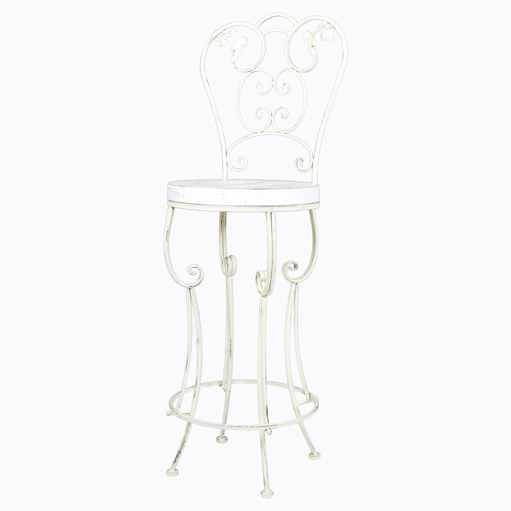 Купить Барный стул «Болеро» Белый в интернет магазине дизайнерской мебели и аксессуаров для дома и дачи