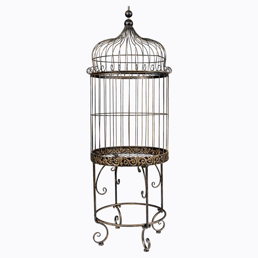 Купить Декоративная клетка-консоль «Оранжери» в интернет магазине дизайнерской мебели и аксессуаров для дома и дачи