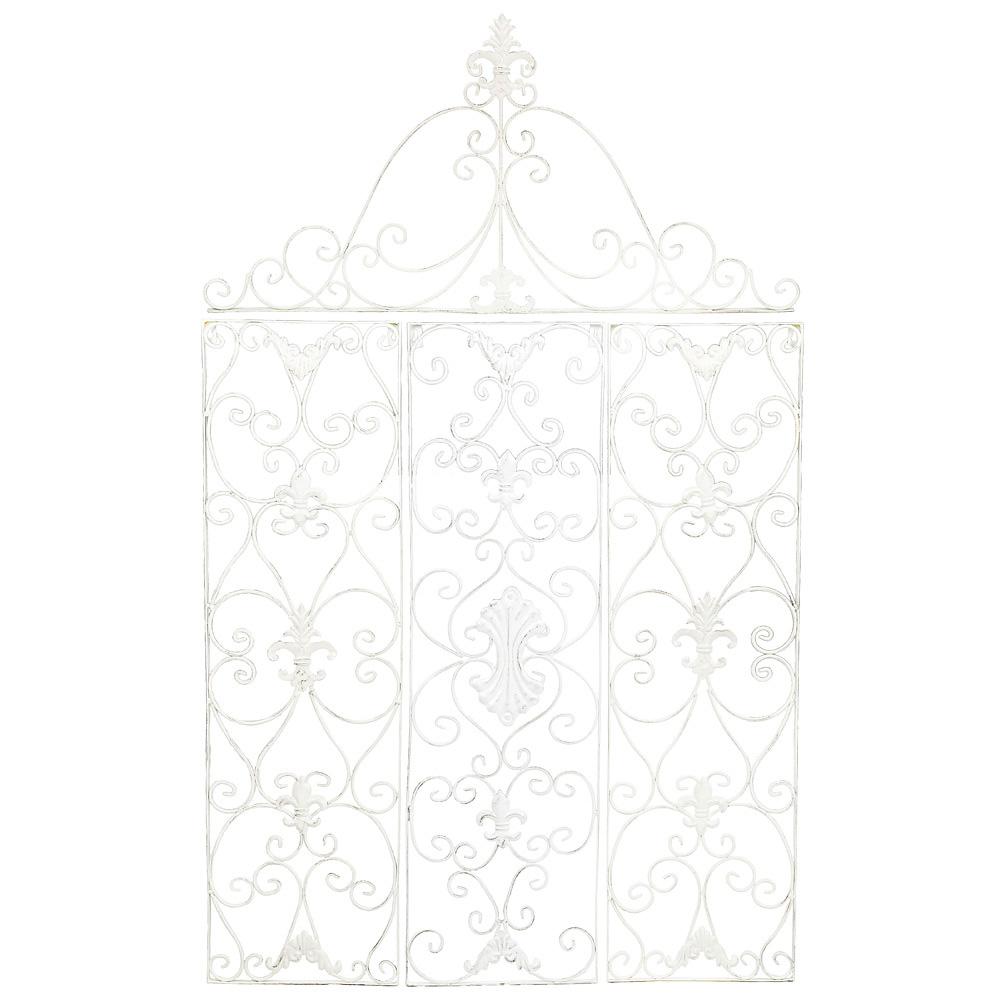 Купить Декоративное панно «Негреско» Белое в интернет магазине дизайнерской мебели и аксессуаров для дома и дачи