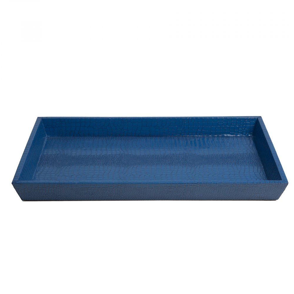 Декоративный поднос Kalipso Синий DG-HOME Декоративный поднос: МДФ основание, покрытие  кожазаменитель