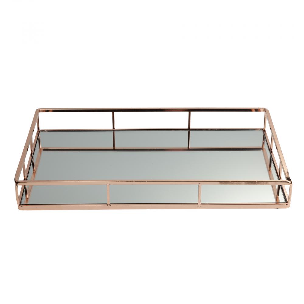 Зеркальный поднос Henley Маленький DG-HOME Зеркальный поднос: железо и зеркало