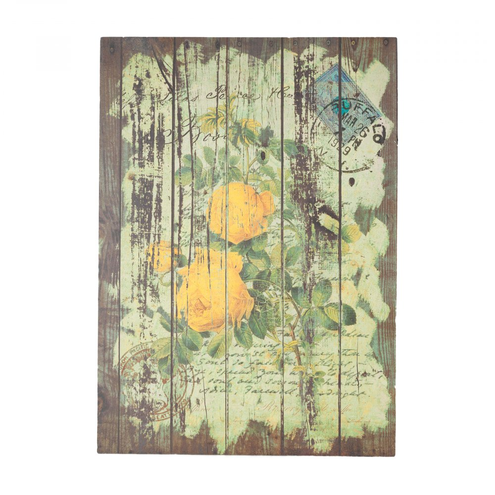 Декоративная панель Flores Yellow