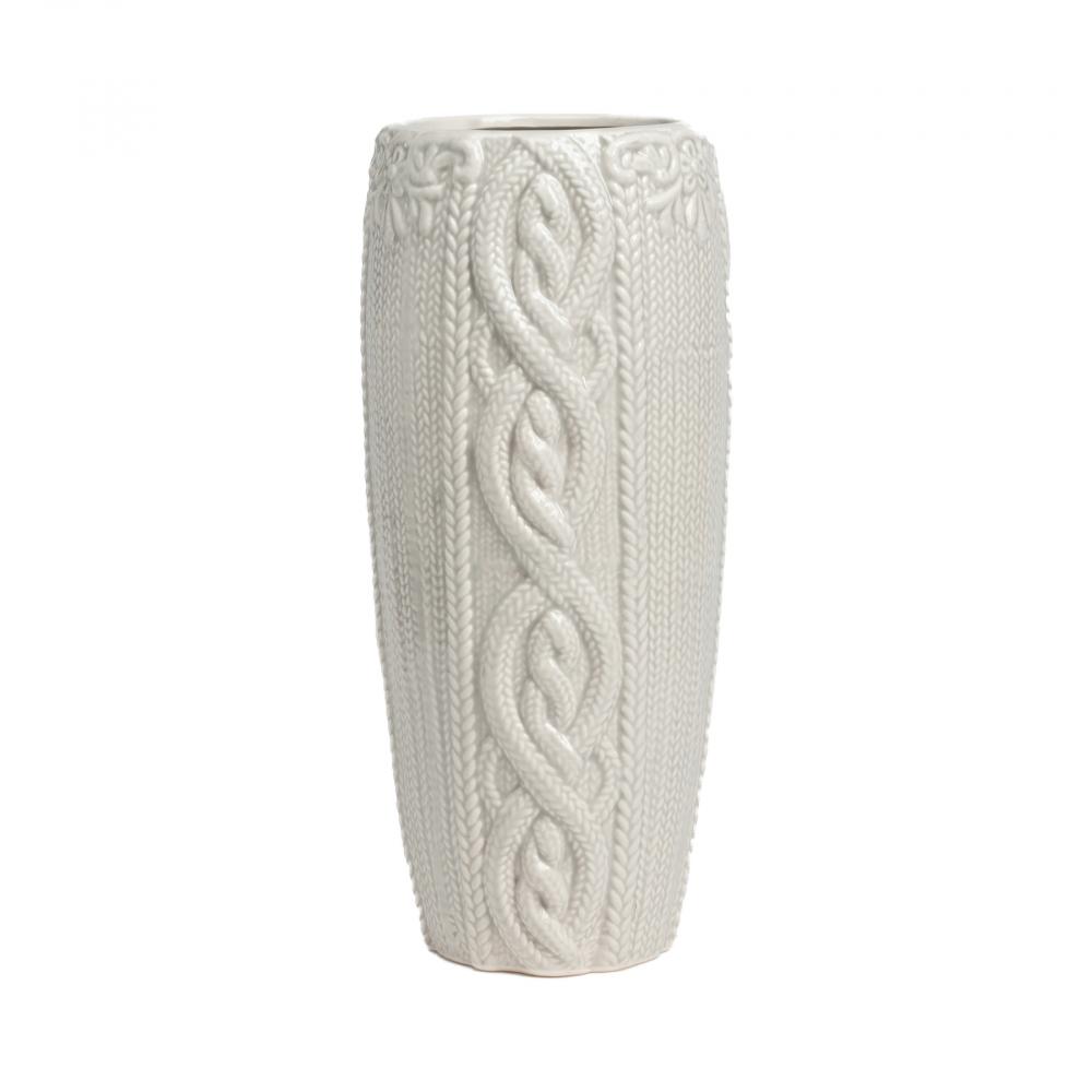 Декоративная ваза Lindley СераяВазы<br><br><br>Цвет: Серый<br>Материал: Керамика<br>Вес кг: 1,3<br>Длина см: 11,5<br>Ширина см: 11,5<br>Высота см: 29