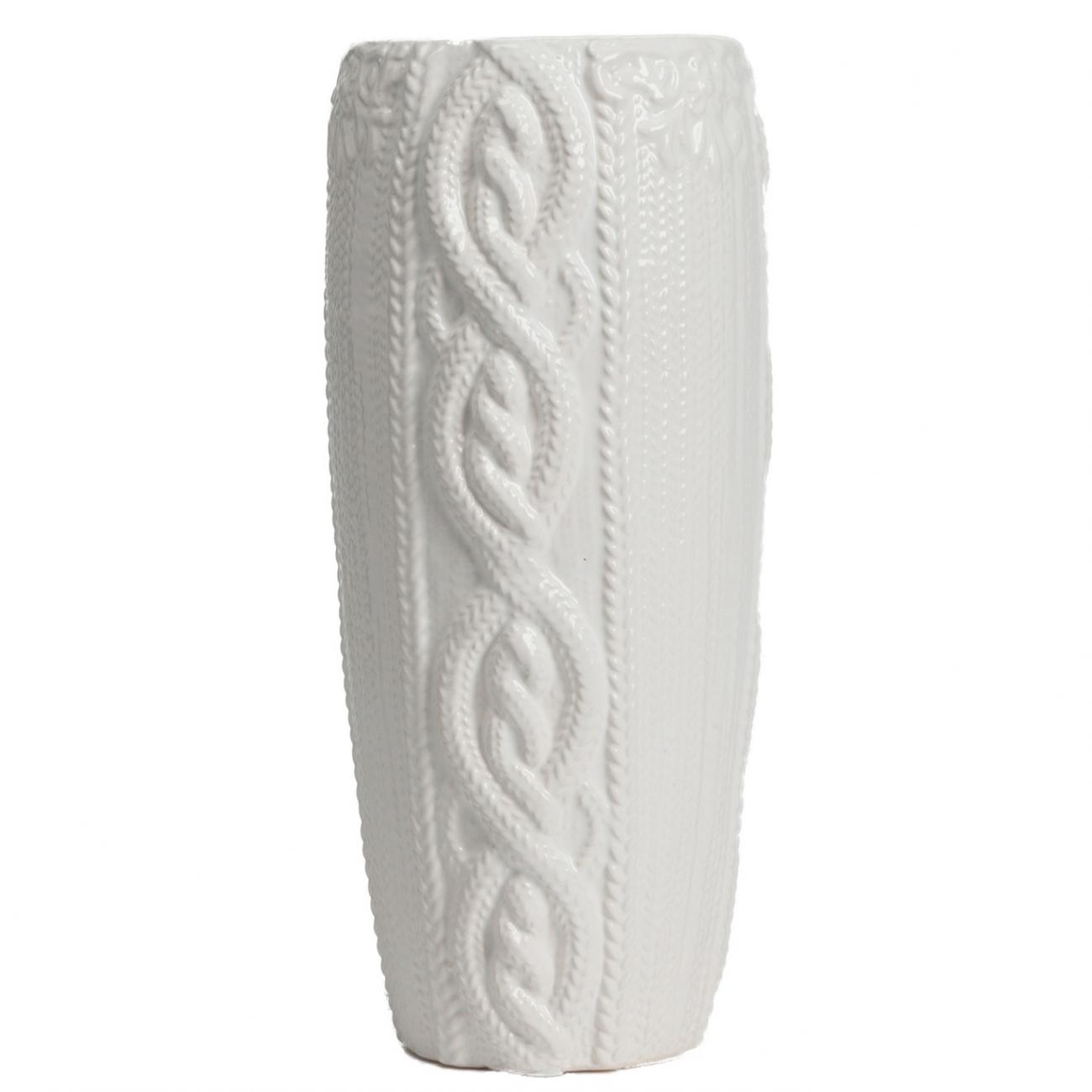 Купить Декоративная ваза Lindley Белая в интернет магазине дизайнерской мебели и аксессуаров для дома и дачи