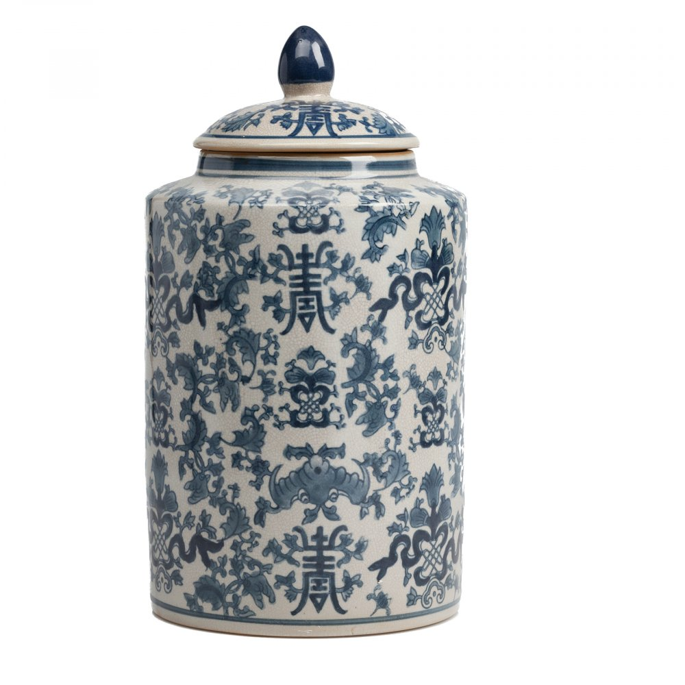 Декоративная банка с крышкой La Pintura для Кухонные принадлежности<br><br><br>Цвет: Разноцветный<br>Материал: Керамика<br>Вес кг: 2,65<br>Длина см: 19<br>Ширина см: 19<br>Высота см: 34,5
