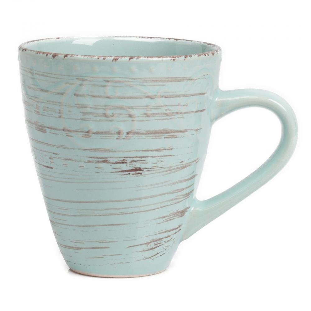 Кружка La Cebra ГолубаяКружки<br><br><br>Цвет: Бирюзовый<br>Материал: Керамика<br>Вес кг: 0,35<br>Длина см: 13<br>Ширина см: 10<br>Высота см: 10