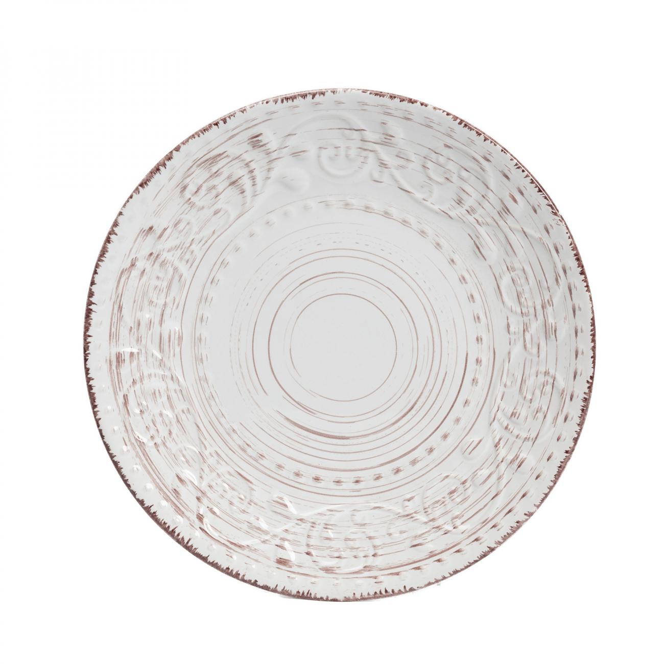 Купить Тарелка La Cebra Маленьая Кремовая в интернет магазине дизайнерской мебели и аксессуаров для дома и дачи