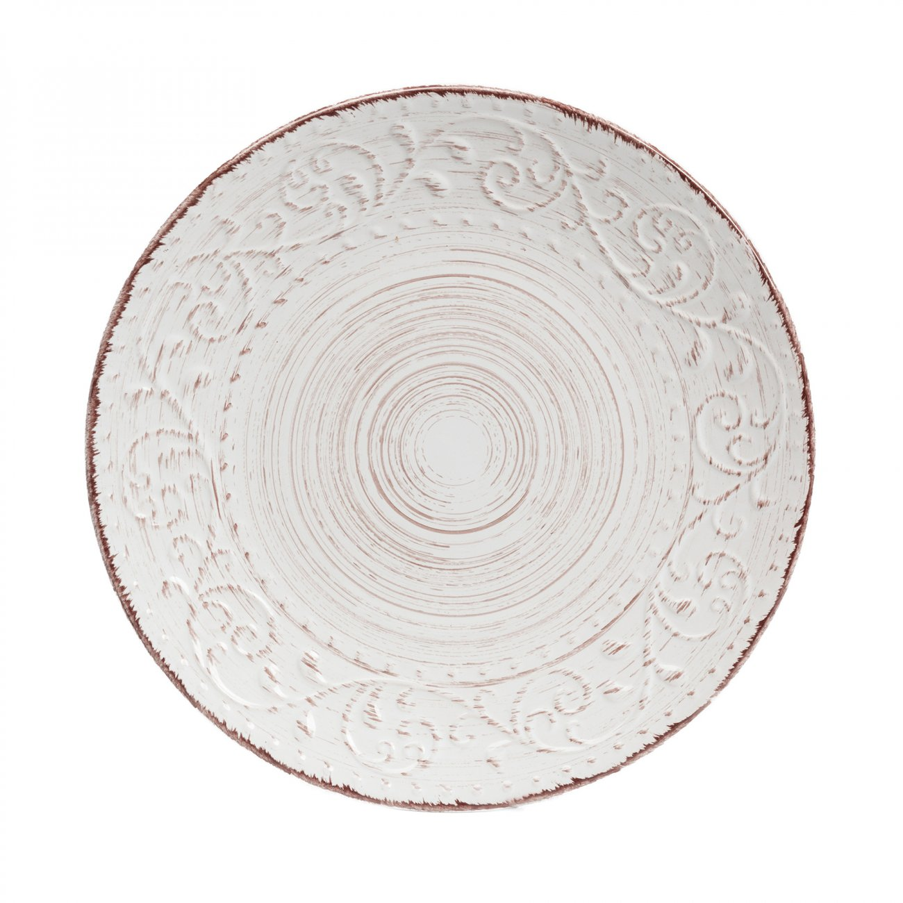 Купить Тарелка La Cebra Большая Кремовая в интернет магазине дизайнерской мебели и аксессуаров для дома и дачи