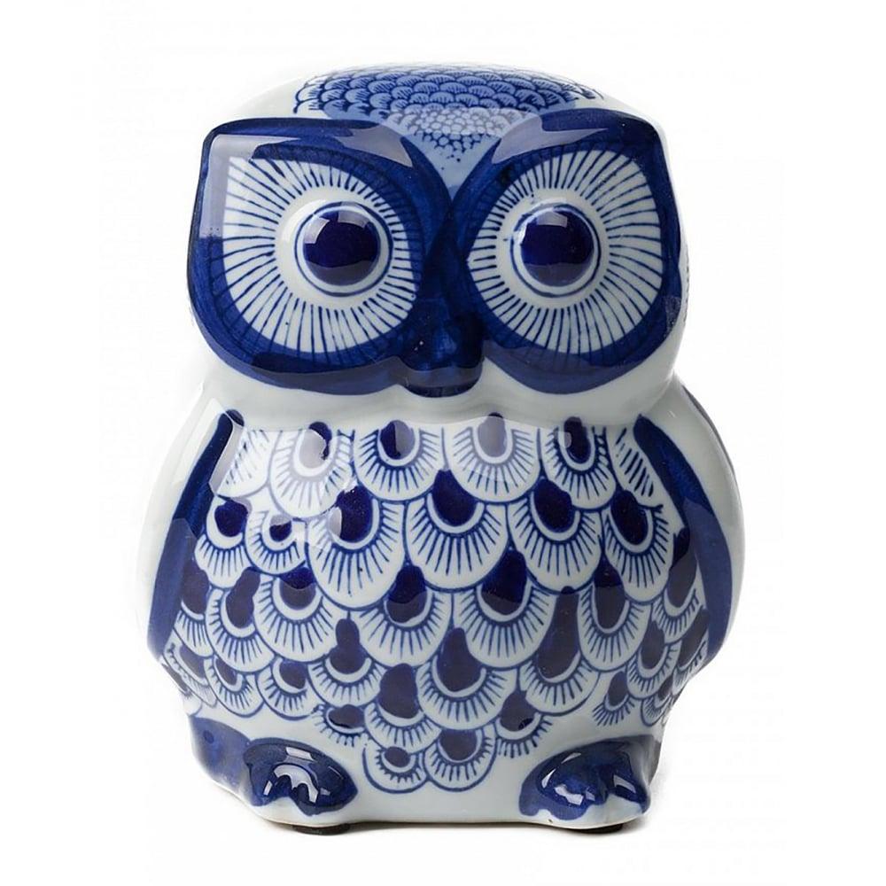 Сова декоративная статуэтка CarmerСтатуэтки<br><br><br>Цвет: Синий<br>Материал: Керамика<br>Вес кг: 0,8<br>Длина см: 12<br>Ширина см: 12<br>Высота см: 15