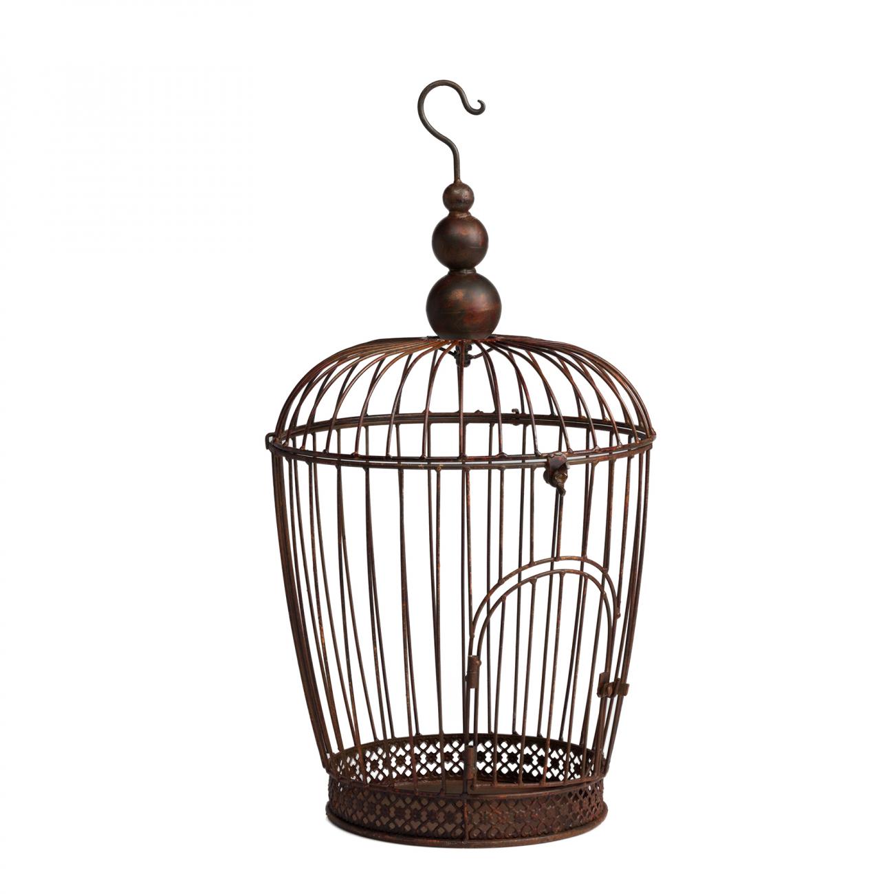 Купить Декоративная клетка Newbury Маленькая Коричневая в интернет магазине дизайнерской мебели и аксессуаров для дома и дачи
