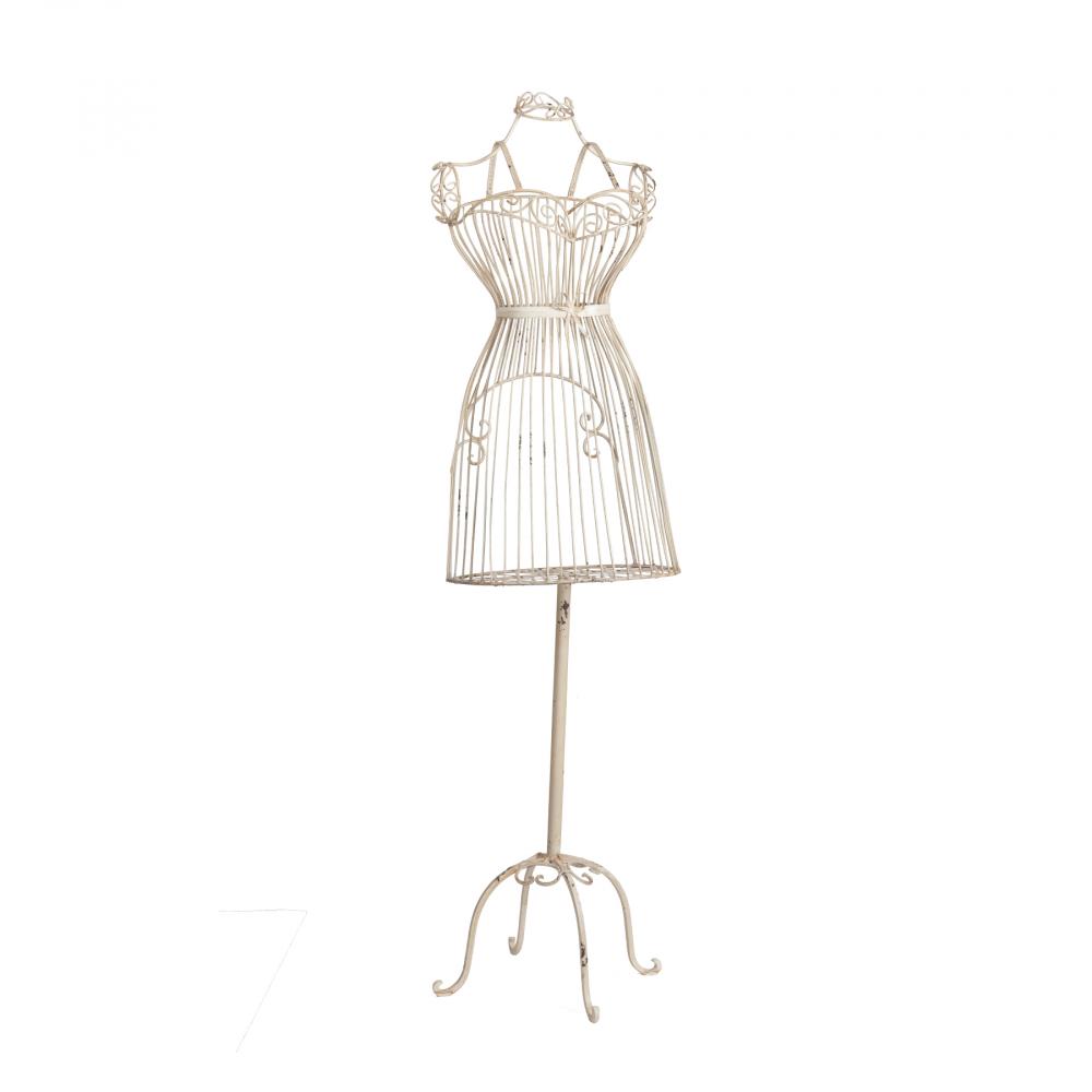 Репродукция манекена Monroe КремовыйШкатулки и подставки для украшений<br><br><br>Цвет: Бежевый<br>Материал: Металл<br>Вес кг: 4,5<br>Длина см: 38<br>Ширина см: 29<br>Высота см: 145
