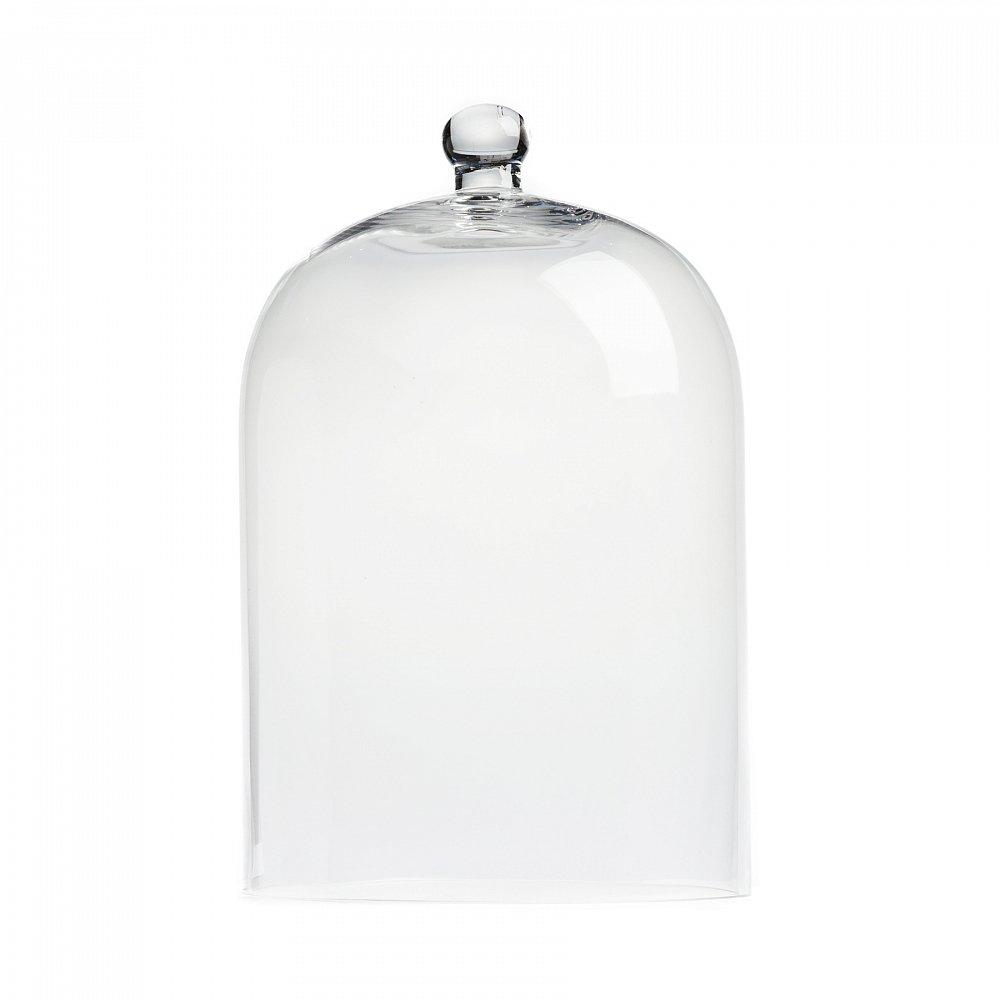 Декоративный купол Oyster БольшойСервировка стола<br><br><br>Цвет: Прозрачный<br>Материал: Стекло<br>Вес кг: 1,83<br>Длина см: 24,5<br>Ширина см: 24,5<br>Высота см: 38