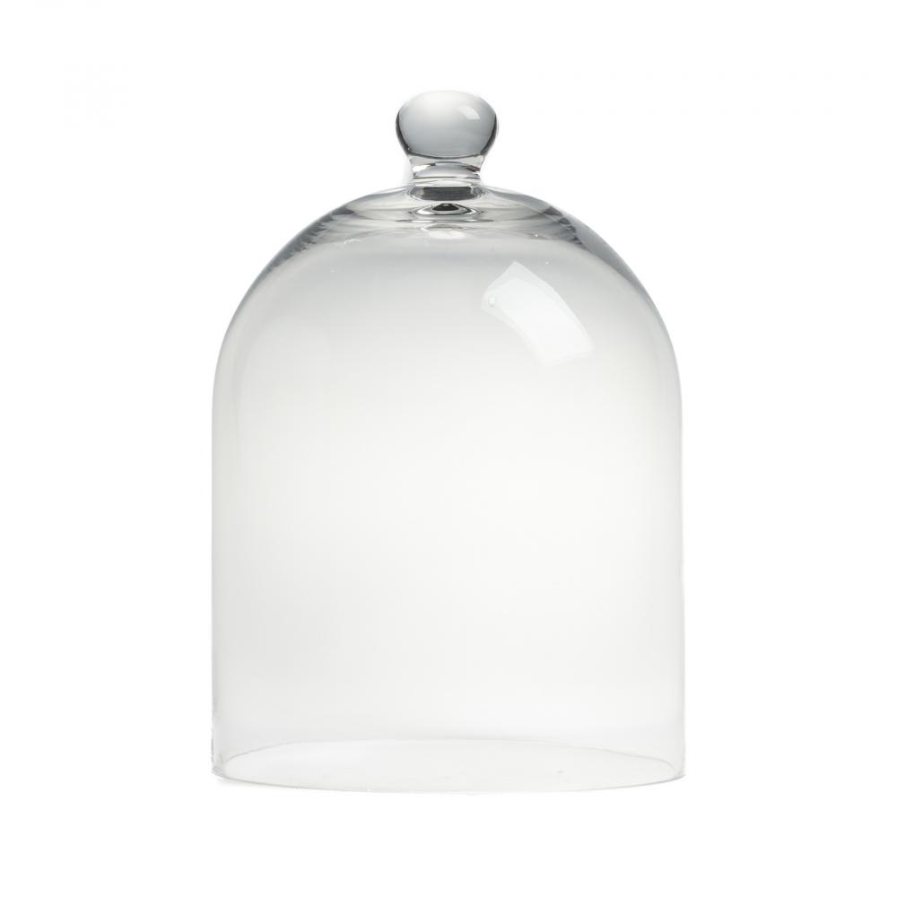 Декоративный купол Oyster МаленькийСервировка стола<br><br><br>Цвет: Прозрачный<br>Материал: Стекло<br>Вес кг: 1,47<br>Длина см: 21<br>Ширина см: 21<br>Высота см: 30