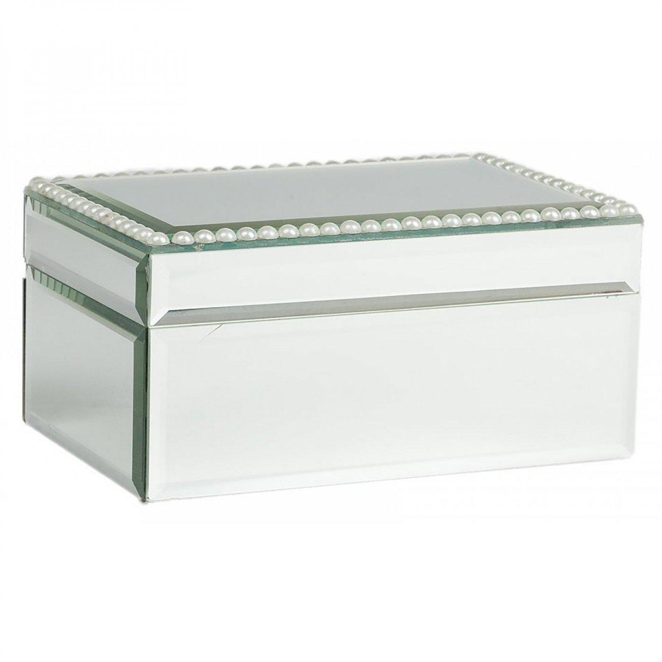 Купить Зеркальная шкатулка (коробка) Bishop прямоугольная в интернет магазине дизайнерской мебели и аксессуаров для дома и дачи