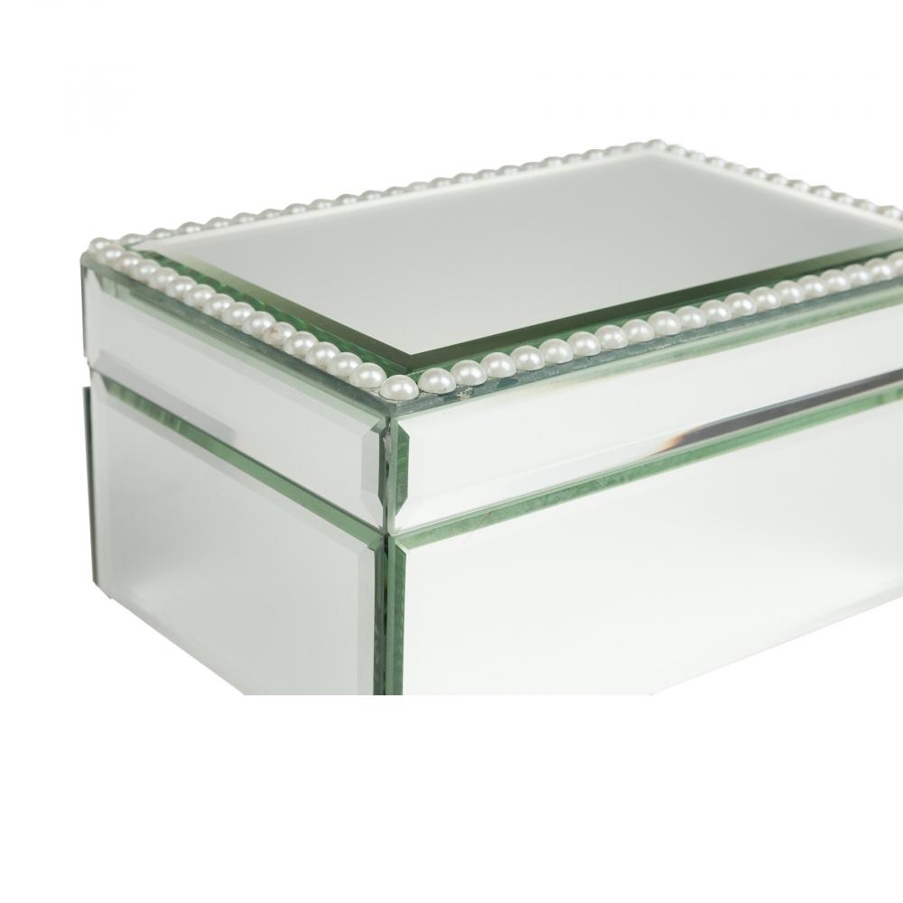 Зеркальная шкатулка (коробка) Bishop прямоугольная