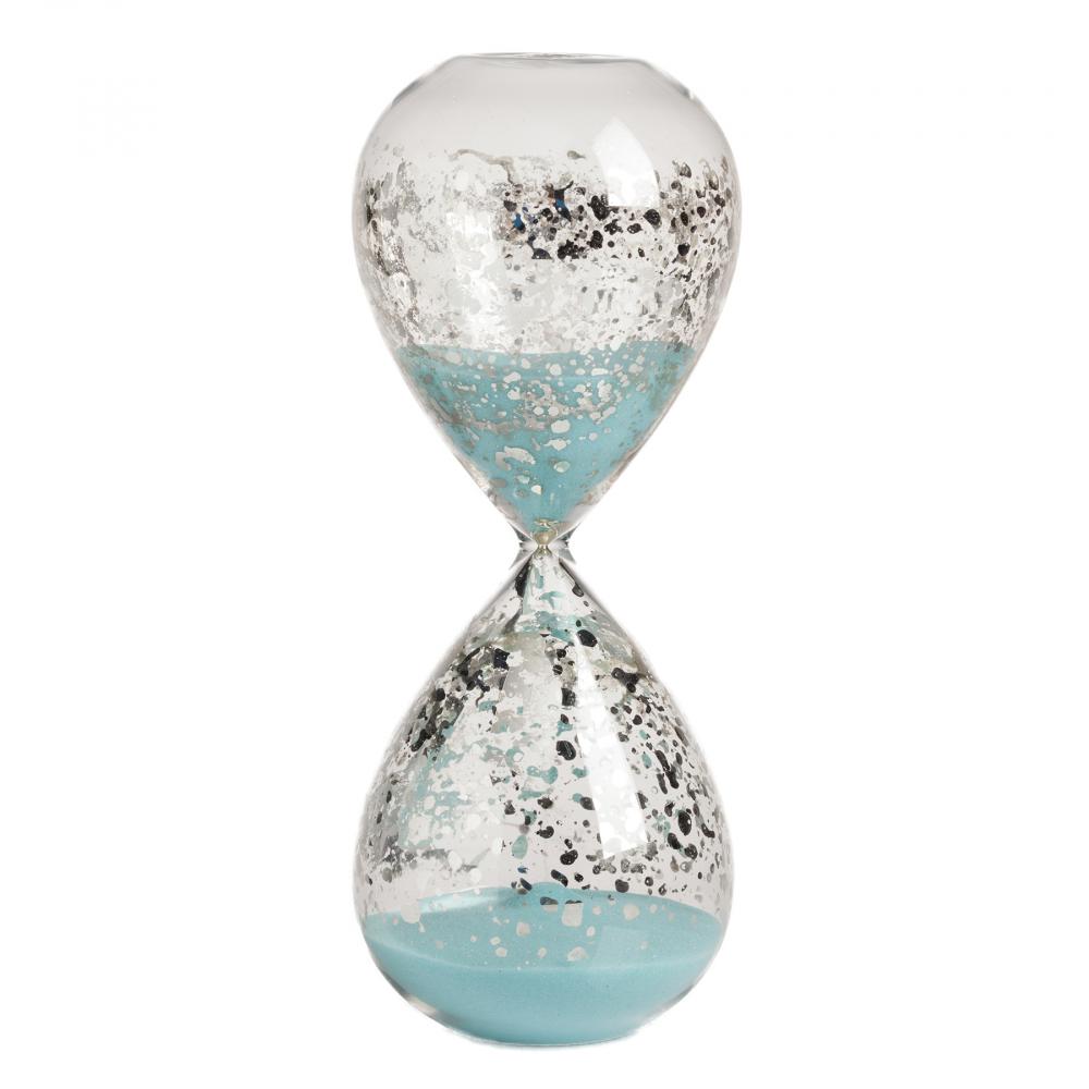 Песочные часы Idina на 30 минут ГолубыеЧасы<br><br><br>Цвет: Голубой<br>Материал: Стекло<br>Вес кг: 0,35<br>Длина см: 8<br>Ширина см: 8<br>Высота см: 20,5