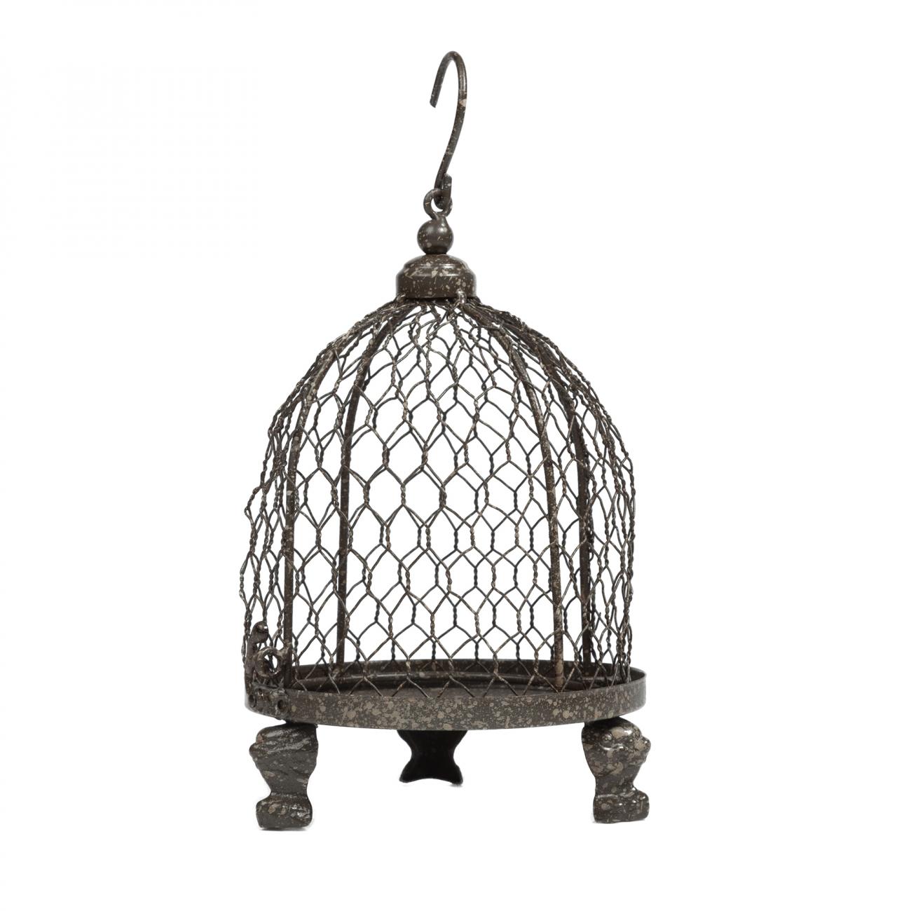 Купить Декоративная клетка-подсвечник Bonadi Маленькая в интернет магазине дизайнерской мебели и аксессуаров для дома и дачи