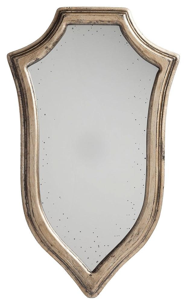 Зеркало Dallas МаленькоеЗеркала<br><br><br>Цвет: Серый<br>Материал: МДФ<br>Вес кг: 1,4<br>Длина см: 30,5<br>Ширина см: 2<br>Высота см: 51
