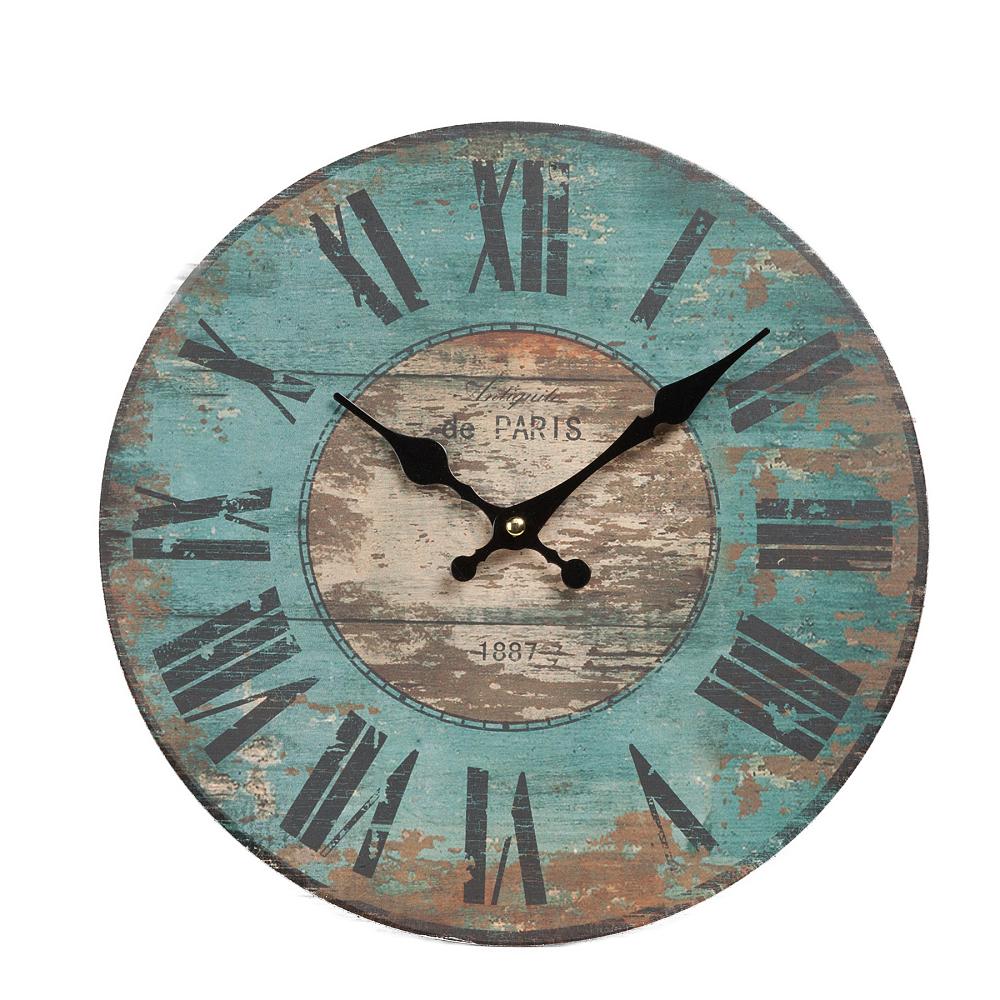 Часы настенные HolmesЧасы<br><br><br>Цвет: Голубой<br>Материал: Металл<br>Вес кг: 0,35<br>Длина см: 30<br>Ширина см: 30<br>Высота см: 2