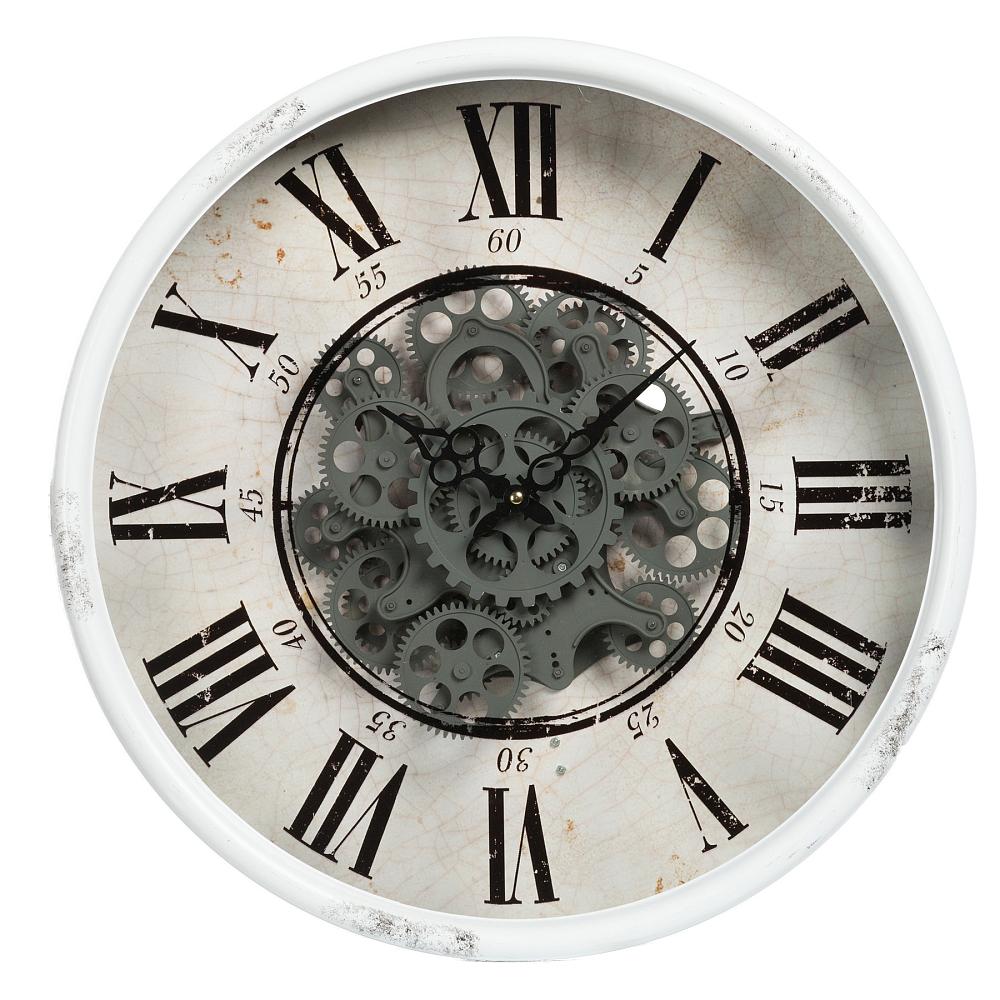Часы настенные OtisЧасы<br><br><br>Цвет: Серый<br>Материал: Металл, Стекло<br>Вес кг: 4,55<br>Длина см: 50<br>Ширина см: 50<br>Высота см: 13,5