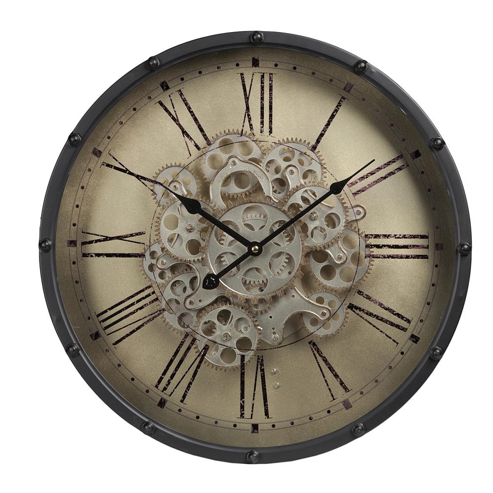Часы настенные HarltonЧасы<br><br><br>Цвет: Белый<br>Материал: Металл, Стекло<br>Вес кг: 3,6<br>Длина см: 46<br>Ширина см: 46<br>Высота см: 11,5