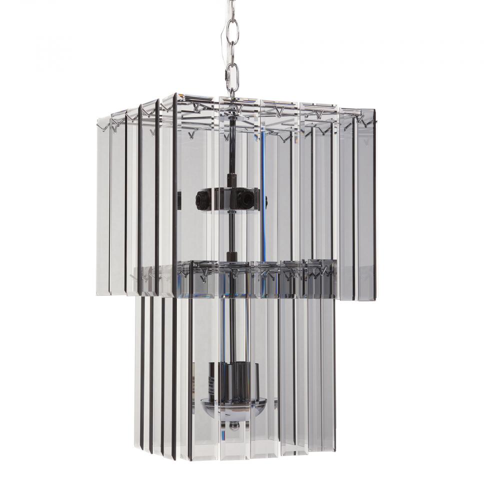 Люстра Harlow БольшаяЛюстры<br>Основание железо, стекло; предназначена <br>для использования со светодиодными лампами, <br>лампы не включены в комплект<br><br>Цвет: Прозрачный<br>Материал: Металл, Стекло<br>Вес кг: 6,2<br>Длина см: 32,5<br>Ширина см: 32,5<br>Высота см: 52