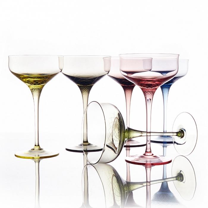 Купить Набор креманок Sera-Irida для шампанского (6 шт.) в интернет магазине дизайнерской мебели и аксессуаров для дома и дачи
