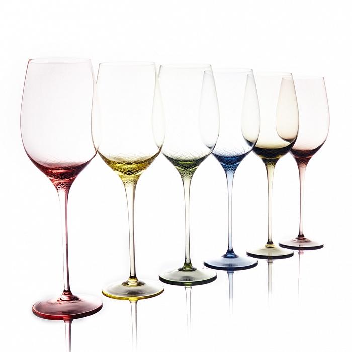 Купить Набор для белого вина из 6 бокалов Sera-Irida в интернет магазине дизайнерской мебели и аксессуаров для дома и дачи