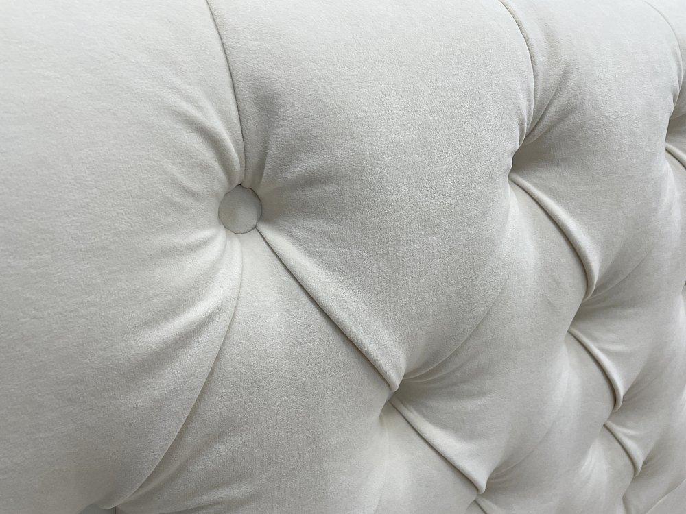 Кровать Sweet Dreams 160х200 Велюр Молочный