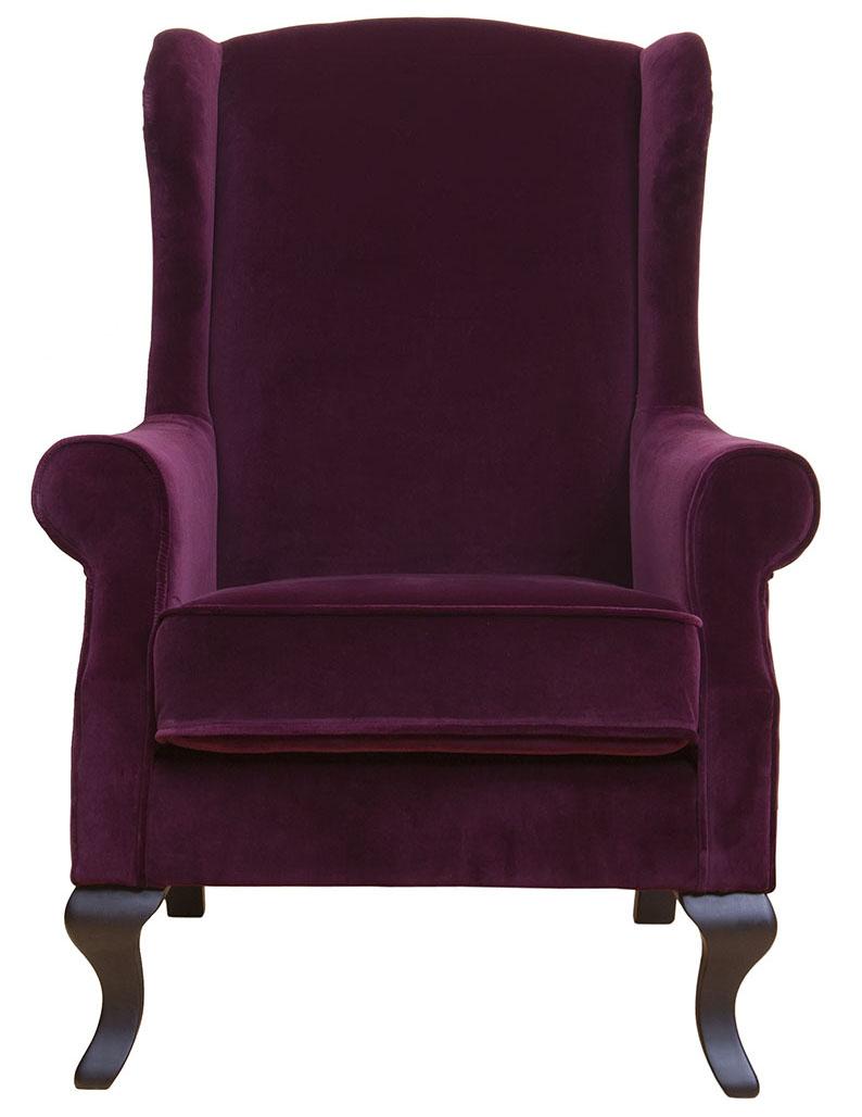 Купить Кресло Chiedo Бордовый Бархат в интернет магазине дизайнерской мебели и аксессуаров для дома и дачи