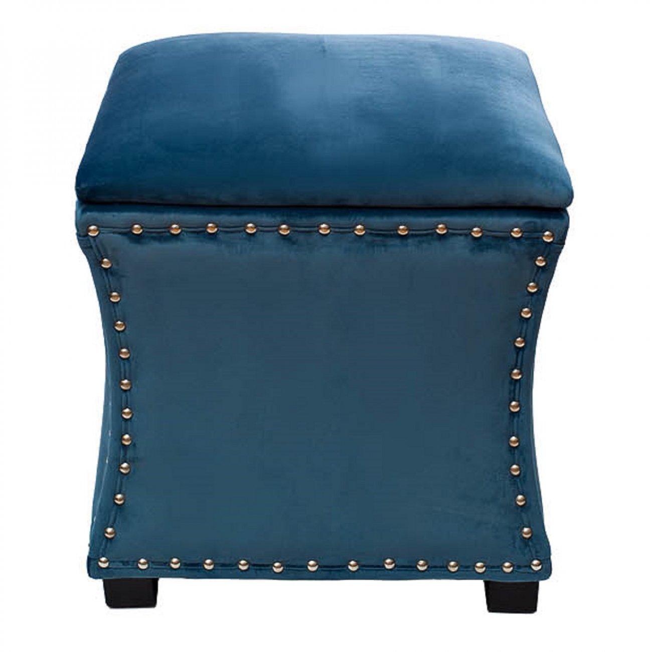 Купить Банкетка с крышкой Surprise Синяя в интернет магазине дизайнерской мебели и аксессуаров для дома и дачи