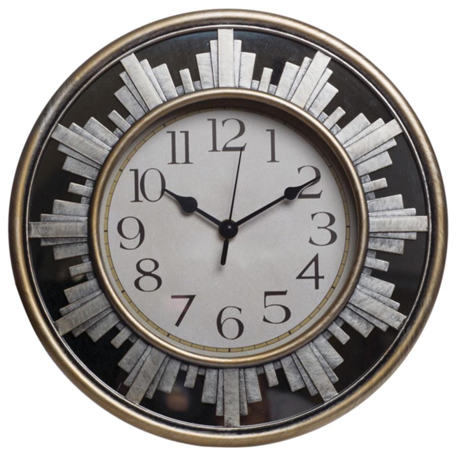Купить Часы настенные Curt круглые в интернет магазине дизайнерской мебели и аксессуаров для дома и дачи
