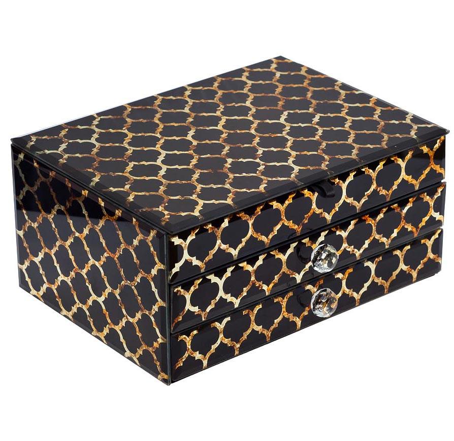 Купить Шкатулка Gold I в интернет магазине дизайнерской мебели и аксессуаров для дома и дачи