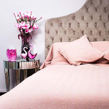 Купить Покрывало PAPILLON полуторное Розовое в интернет магазине дизайнерской мебели и аксессуаров для дома и дачи