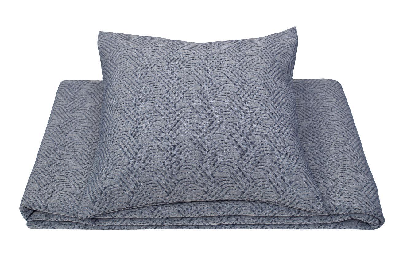 Купить Наволочка PAPILLON декоративная Синяя в интернет магазине дизайнерской мебели и аксессуаров для дома и дачи
