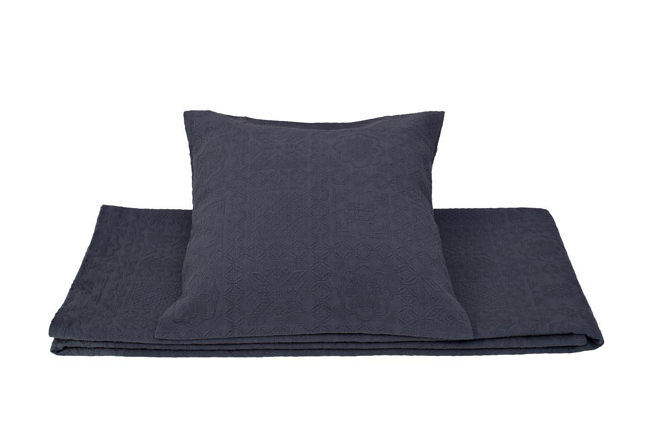 Купить Наволочка NATALIE декоративная Тёмно-синяя в интернет магазине дизайнерской мебели и аксессуаров для дома и дачи