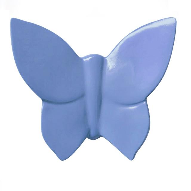 Декоративная бабочка Butterfly (голубая) 9*11