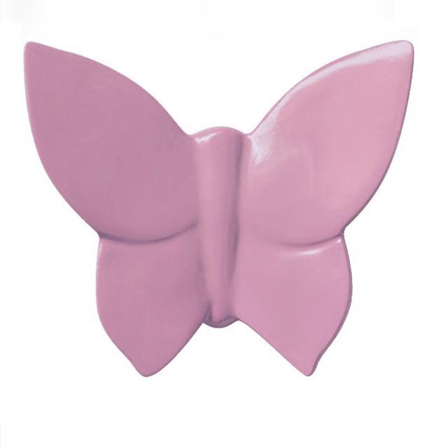 Декоративная бабочка Butterfly (розовая) 9*11