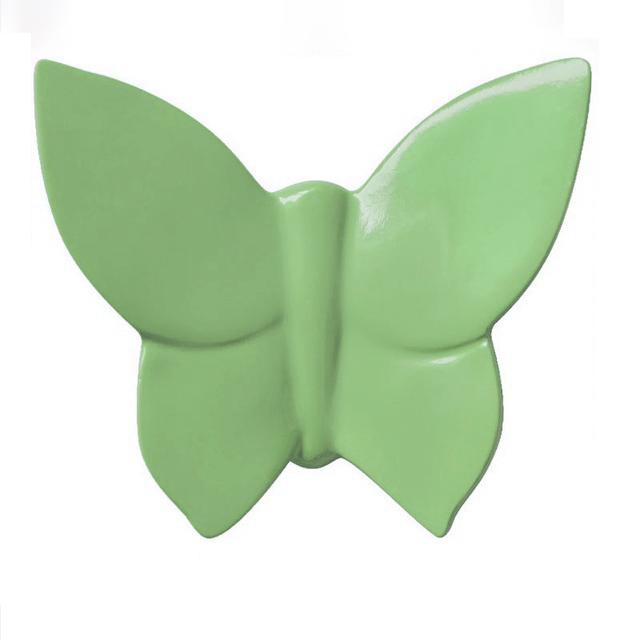 Декоративная бабочка Butterfly (зелёная) 9*11