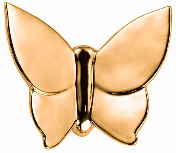 Купить Декоративная бабочка Butterfly (золотая) 12*14 в интернет магазине дизайнерской мебели и аксессуаров для дома и дачи