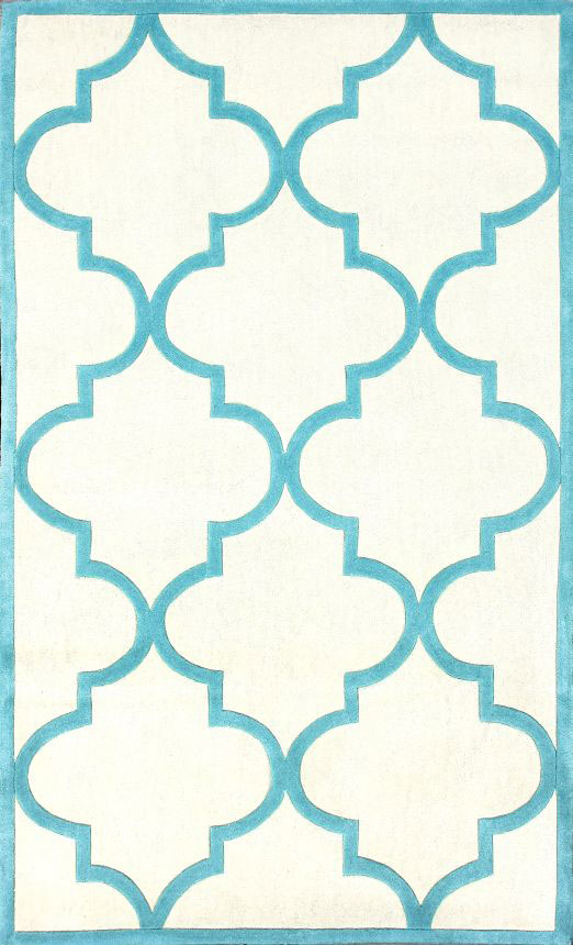 Ковёр Трельяж Белый 1,4-2Ковры<br><br><br>Цвет: Белый, Голубой<br>Материал: Шерсть, Хлопок<br>Вес кг: 3<br>Длина см: 140<br>Ширина см: 1,5<br>Высота см: 200