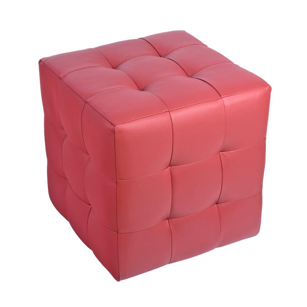 Пуф Руби РозовыйПуфы и оттоманки<br><br><br>Цвет: Розовый<br>Материал: Экокожа<br>Вес кг: None<br>Длина см: 41<br>Ширина см: 41<br>Высота см: 43