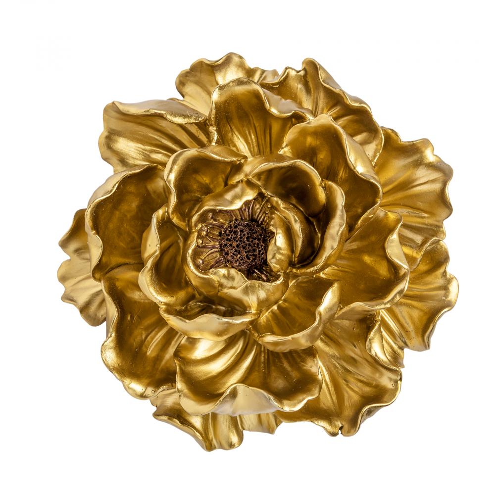 Декоративный цветок Золотой средний