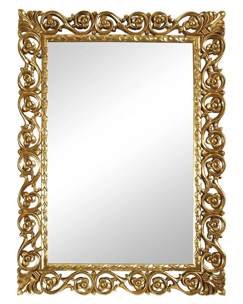 """Купить Зеркало в раме """"Бергамо"""" 20C. Gold/8 в интернет магазине дизайнерской мебели и аксессуаров для дома и дачи"""