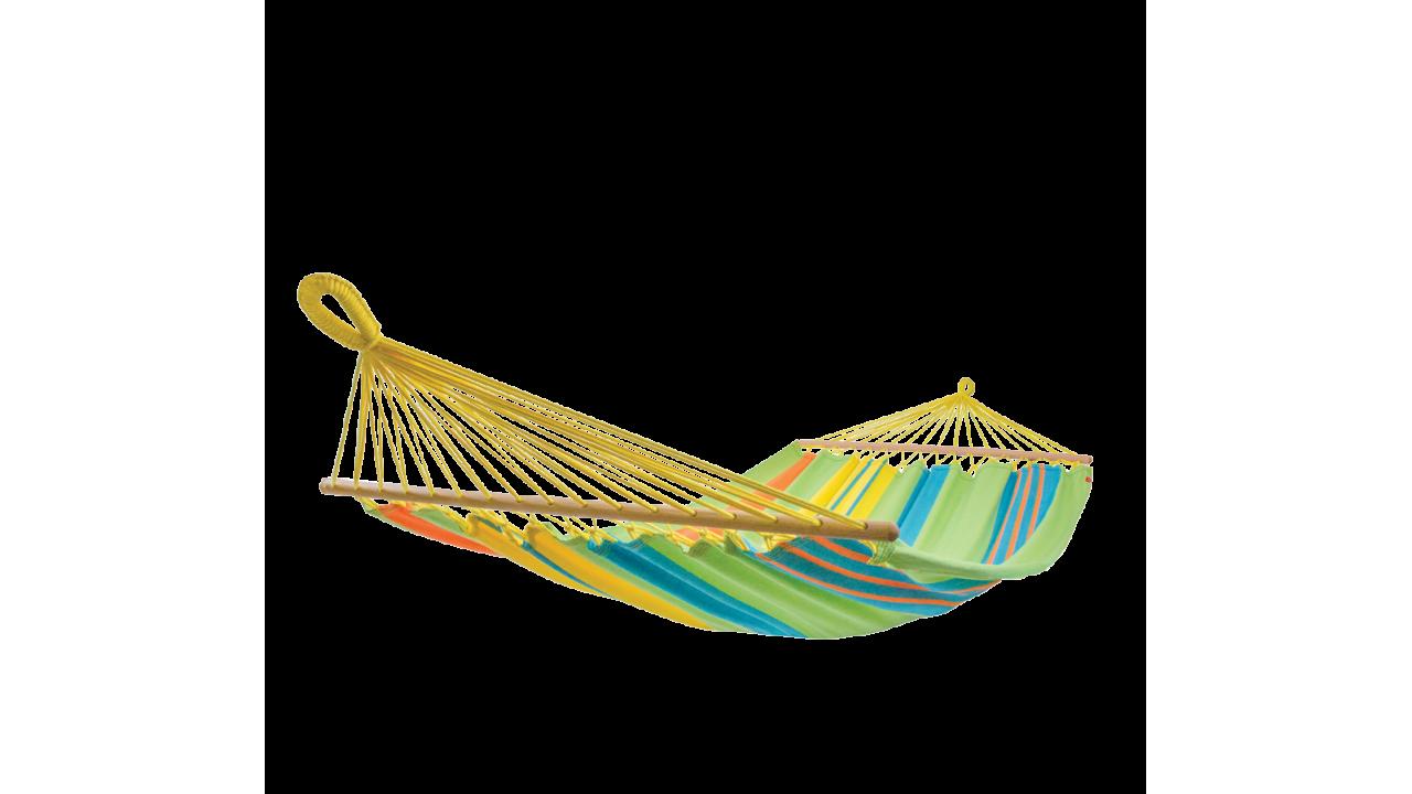 Купить Подвесной гамак с перекладинами для двоих Tropic в интернет магазине дизайнерской мебели и аксессуаров для дома и дачи