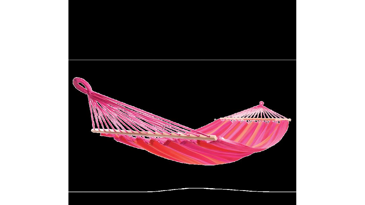Купить Подвесной гамак с перекладинами для двоих Flowers в интернет магазине дизайнерской мебели и аксессуаров для дома и дачи