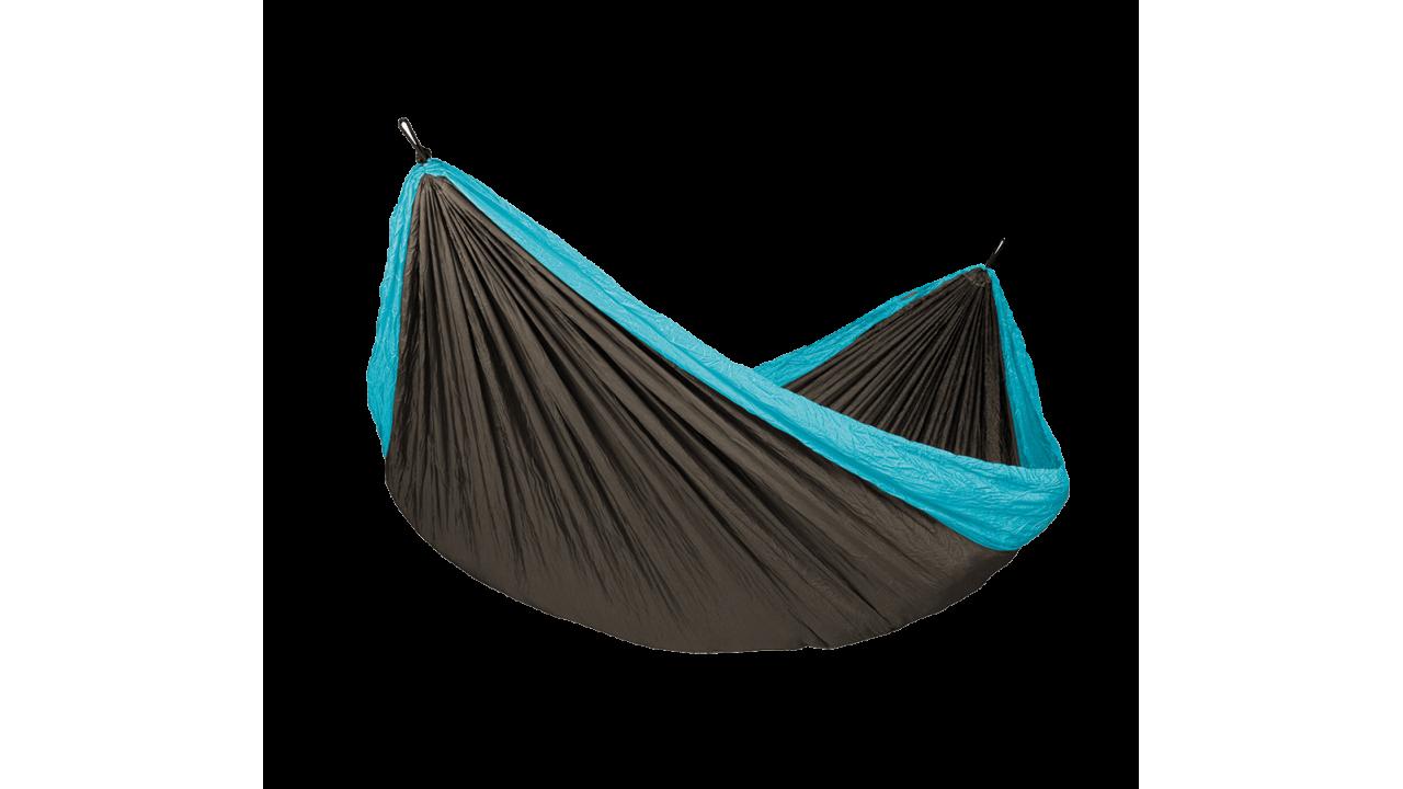 Купить Туристический гамак для двоих Voyager Blue в интернет магазине дизайнерской мебели и аксессуаров для дома и дачи